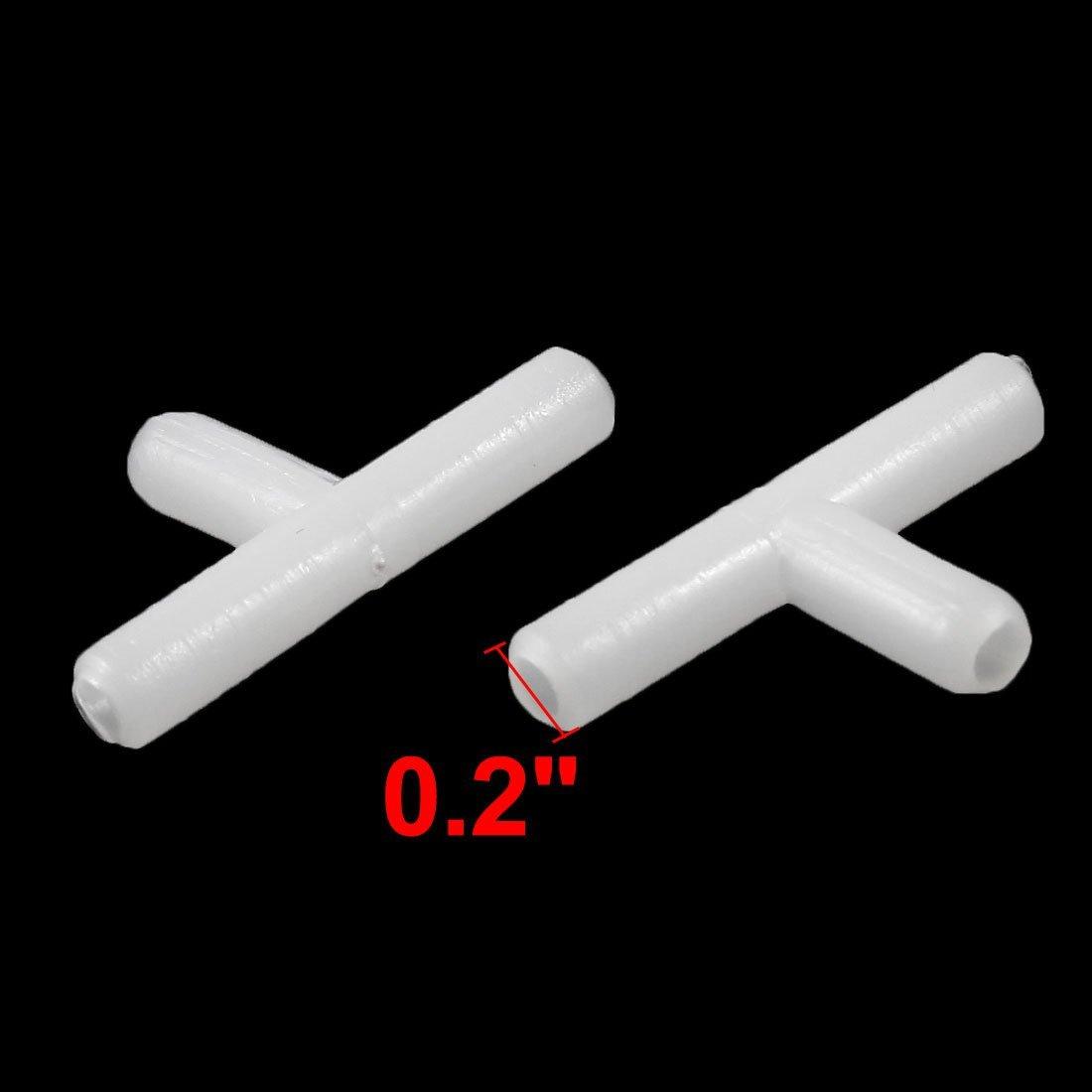 Amazon.com : eDealMax 10 piezas en Forma de T conectores de tubo ...