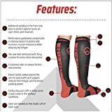 Premium Professional Athletic Graduated Compression Socks - Men, Women, Youth. For OCR, Obstacle, Rope, Mud, Running, Trail, Sports