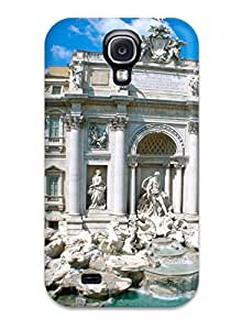 Cute Appearance Cover/tpu Trevi Fountain Rome Italy Case For Galaxy S4 8497998K54030752