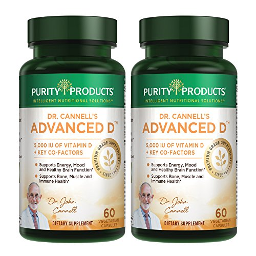Dr. Cannell's Advanced D - Vitamin D Super Formula - Purity Products (2) by Purity Products