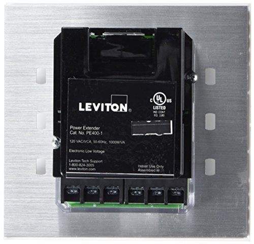 Leviton PE400-10W Power Extender Electronic Low Voltage and Incandescent, 1000 VA At 120VAC 50/60Hz Dimming Control by Leviton