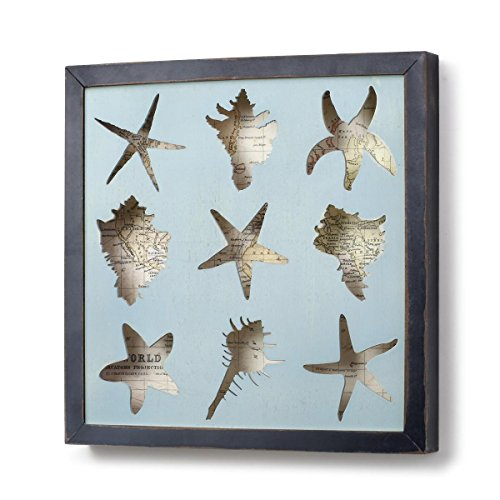 Framed Shadow Box (DEMDACO Seashell Framed Shadow Box)