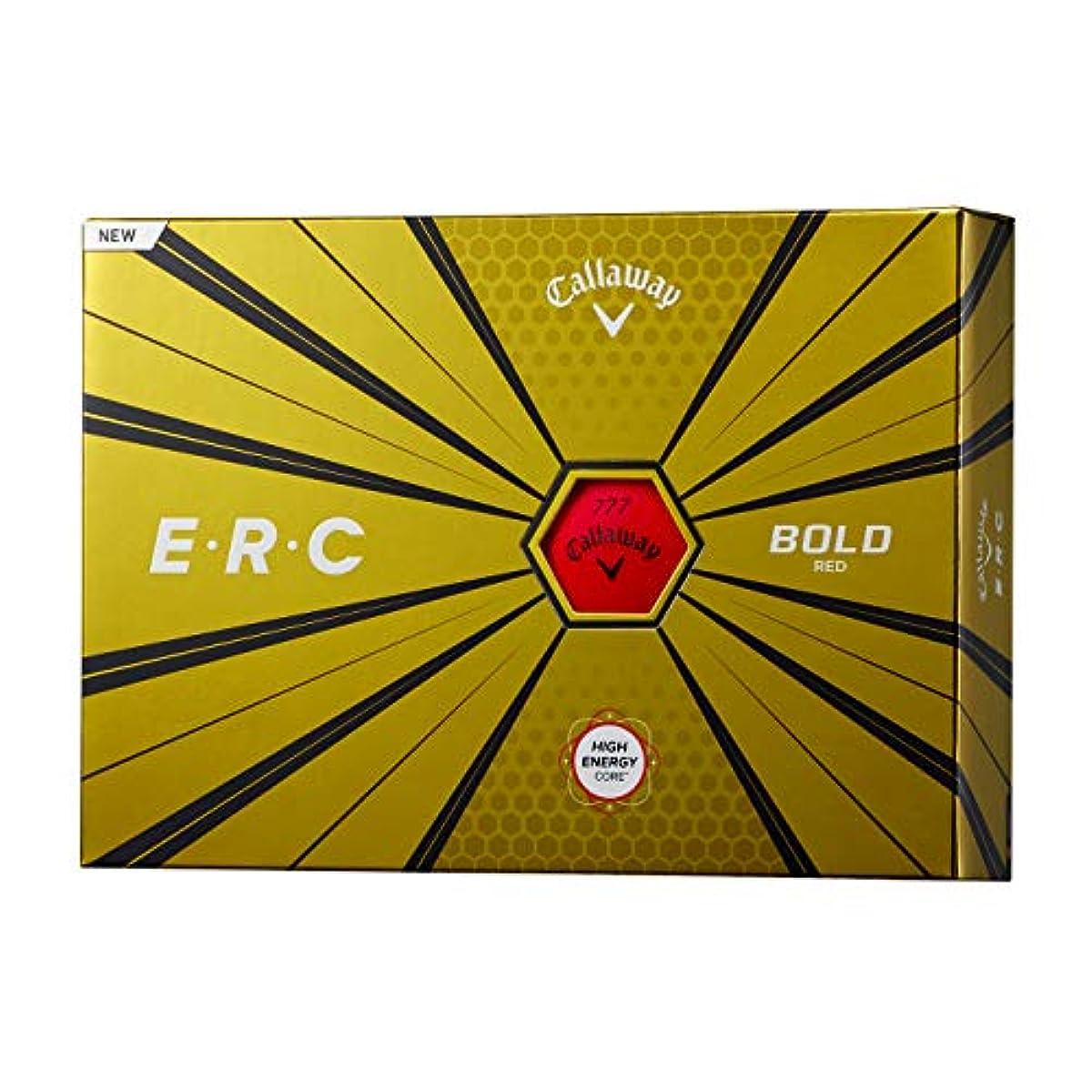 [해외] CALLAWAY(캘러웨이) 골프 볼 ERC볼 1다스(12개 들이) 2019년 모델