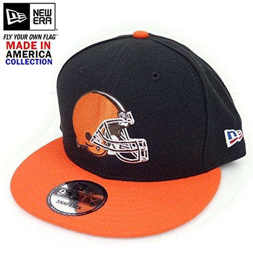 ユダヤ人意義メダルNew Era ニューエラ NFL Cleveland Browns クリーブランド ブラウンズ スナップバックキャップ【並行輸入品】