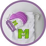 Mordedera para bebé Munch Mitt Guante de Dentición - morado
