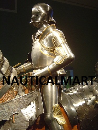 NauticalMart Composite Armour For Emperor Maximilian I Medieval Suit Of Armor