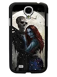 Classic Style Hot Pattern Galaxy S4 I9500 Funda Case TheNightmareBeforeChristmas - Vintage Pattern Ultra Thin Drop Protection High Impact Impact Resistant Back Film Protector Skin For Samsung Galaxy S4 I9500