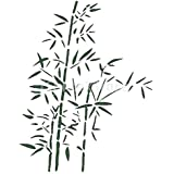 Bamboo stencil size 10 w x 16 h reusable for Pochoir mural geant