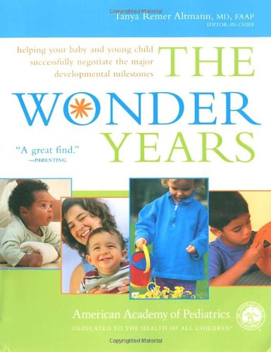 Read Online The Wonder Years: Helping Your Baby and Young Child Successfully Negotiate The Major Developmental Milestones pdf