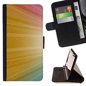 BullDog Case - FOR/Apple Iphone 5 / 5S / - / Color Shine Sparkle Colors /- Monedero de cuero de la PU Llevar cubierta de la caja con el ID Credit Card Slots Flip funda de cuer