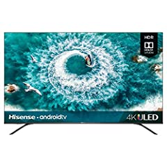 The Hisense H8F is the most advanced TV in its price class providing a picture with richer colors, more detail, better brightness, and smoother motion. For the first time, the H8 is powered by Hisense's proprietary ULED technologies and Hi-Vi...