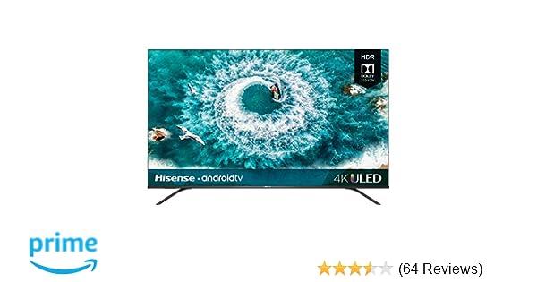 Hisense 65H8F 65-inch 4K Ultra HD Android Smart LED TV HDR10 (2019)