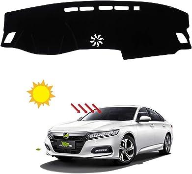 BLAKAYA Compatible with Auto Car Dashboard Carpet Dash Board Cover Mat Dash Protector for 2013 2014 2015 2016 2017 Honda Accord Sun Cover Pad