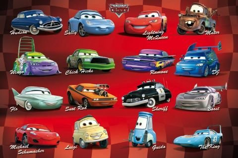 disney cars posters for boys room