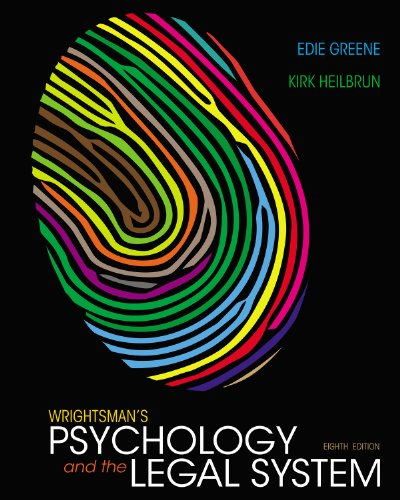Download Wrightsman's Psychology and the Legal System Pdf