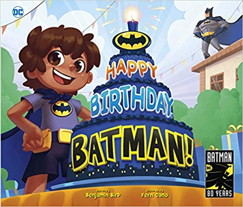 Happy Birthday, Batman! book cover
