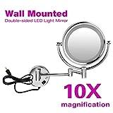 Floureon 10x Magnification 8.5 Inch Plug in