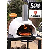 Gardeco PIZZARO AFC-PO1.00 Traditional Wood Fired Chimalin AFC Pizza Oven. Includes Funnel & Tigerbox Matches (Stand Sold Separately).