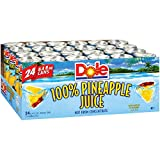 Dole 100% Pineapple Juice 8.4 oz, 24 ct. (pack of 4) A1