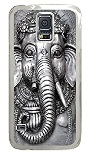 Big Face Ganesh Polycarbonate Hard For Case Ipod Touch 4 Cover Transparent