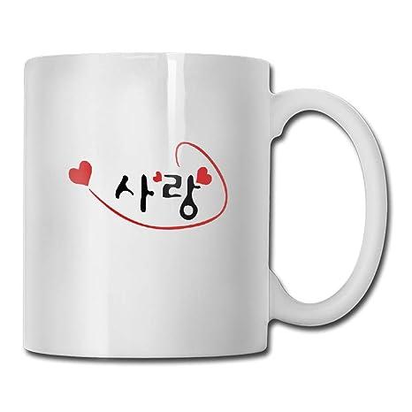 Amazon.com: Copa de té con corazones rojos de la marca Love ...