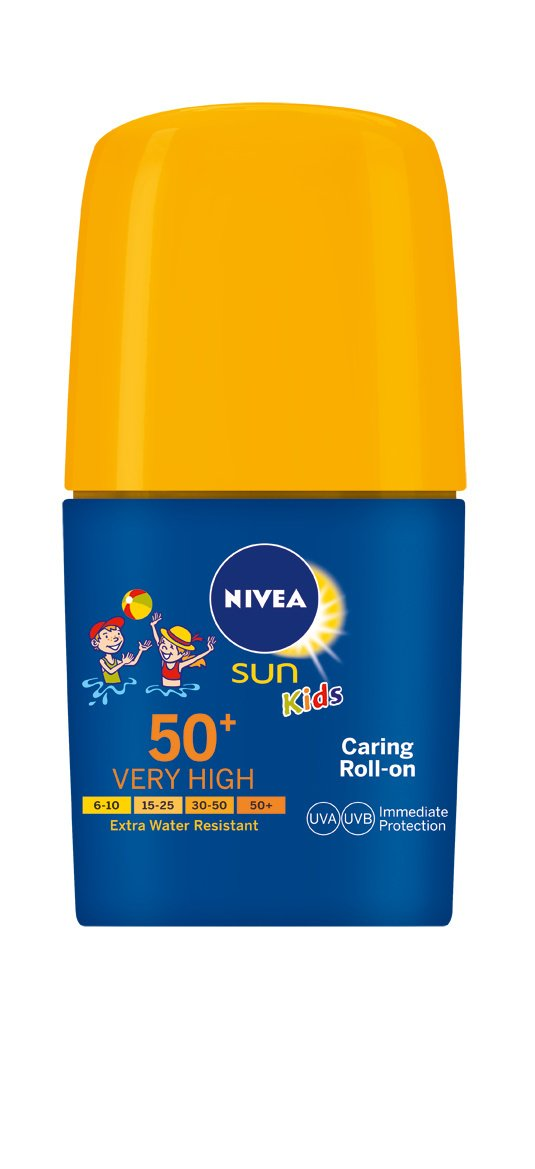 Nivea Niños Sun Kids Roll On Crema Solar 50+- 50 ml: Amazon.es: Amazon Pantry