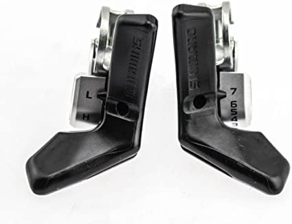 SHIMANO Tourney SL-A050 SIS 2//3 x 7-Speed Thumb Shifter Lever Set