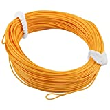 Cheap TOOGOO(R) 1 x Fly Fishing 100ft floating FLY LINES for rod & reel welded loops