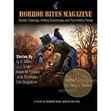 Horror Bites Magazine Issue #2: Devilish Drawings, Smiling Scarecrows, and Plummeting Planes
