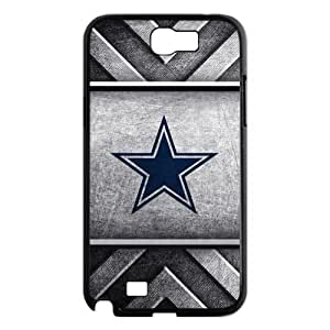 Godstore 2014 New Style NFL Dallas Cowboys Logo Cover Hard Plastic Samsung Galaxy Note 2 N7100 Case