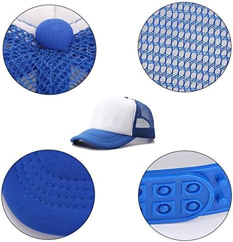 Usieis Kids Cap American Skull Mesh Hat Dad Cap Baseball Hat Adjustable Trucker Cap for Boys/&Girls