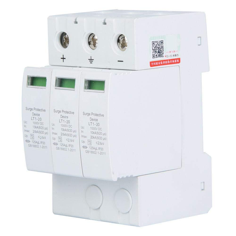 Protecteur de surtension domestique DC appareils de protection domestique et votre s/écurit/é 3p20ka dispositif de protection domestique 3P avec coque ignifuge