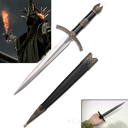 S0176 LORD OF THE RINGS HOBBIT WITCH KING ANGMAR RINGWRAITHS DAGGER SCABBARD 14