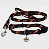 Baltimore Orioles Pet Set Dog Leash Collar ID Tag SMALL