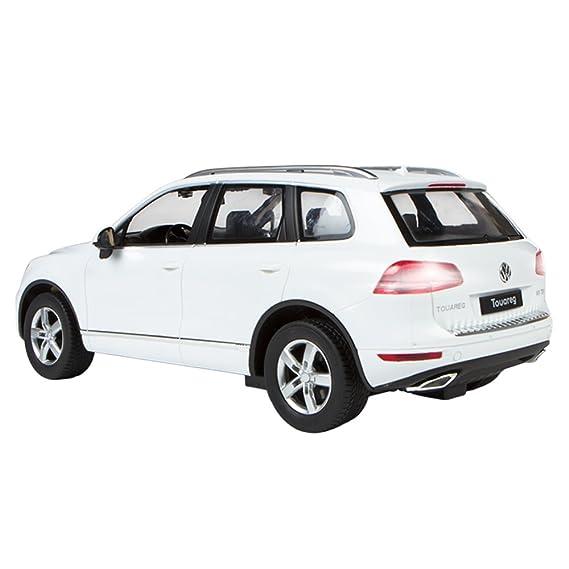 Rastar - Volkswagen Touareg, coche teledirigido, escala 1:14, color blanco (ColorBaby 85019): Amazon.es: Juguetes y juegos