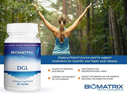 DGL 60 Capsules – Deglycyrrhized Licorice
