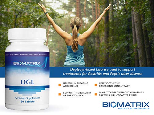 DGL 60 Tablets – Deglycyrrhized Licorice to Help Support The Integrity of The Stomach