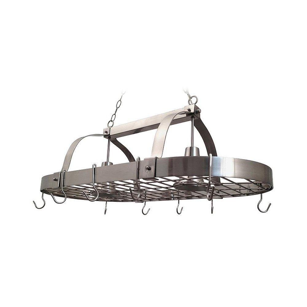 elegant designs pr1000 bsn home collection 2 light kitchen pot