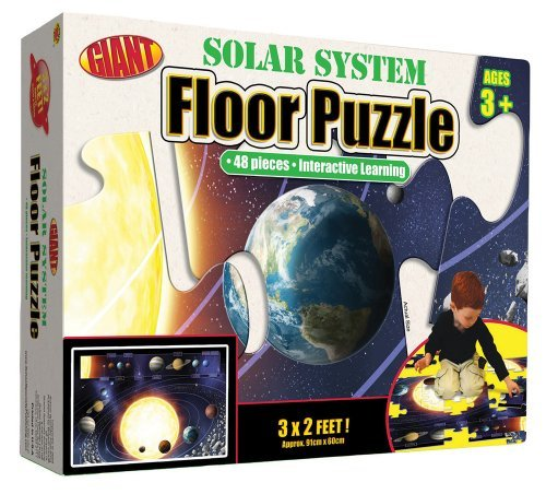 Our Solar System Floor Puzzle: Interactive Learning (Brighter Child Giant Floor Puzzles) by School Specialty Publishing (2008-08-15) (School 2008 Learning System)