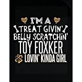 My Family Tee Toy Foxker Lovin' Kinda Girl Gift For Puppy Dog Lovers - Sticker