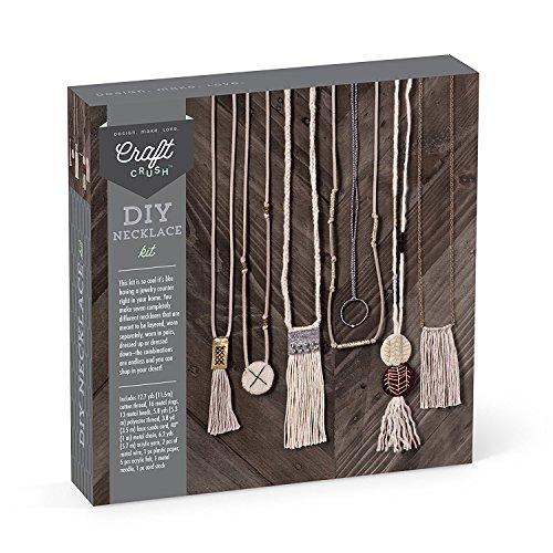 Craft Crush DIY Craft Kit Makes 8 Unique Necklaces -
