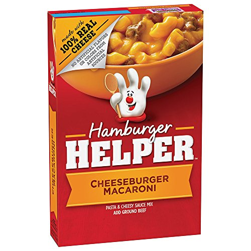 Betty Crocker Hamburger Helper, Cheeseburger Macaroni Hamburger Helper, 6.6 Oz Box (Pack of 12)