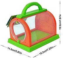 Nrpfell Caja de Insectos Caja Peque?A de ObservacióN de Mascotas ...