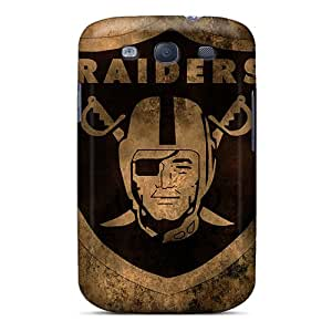 Protective Cell-phone Hard Cover For Samsung Galaxy S3 With Allow Personal Design Trendy Oakland Raiders Image LauraAdamicska