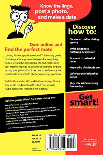 Read Online Dating For Dummies D.O.C