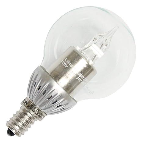 25 watt equal g16 globle led light bulb warm white 2700k