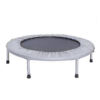Piccola Attrezzatura di Esercizio del Trampolino di Forma Fisica Portatile a 36 Pollici Trampolino per i Bambini o Il Gray degli Adulti