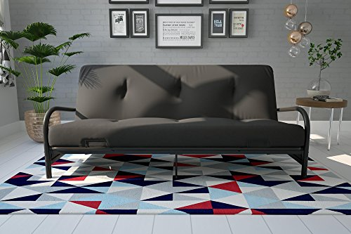 DHP Vermont Metal Futon Frame, Classic Design, Full Sized - Black by DHP (Image #4)