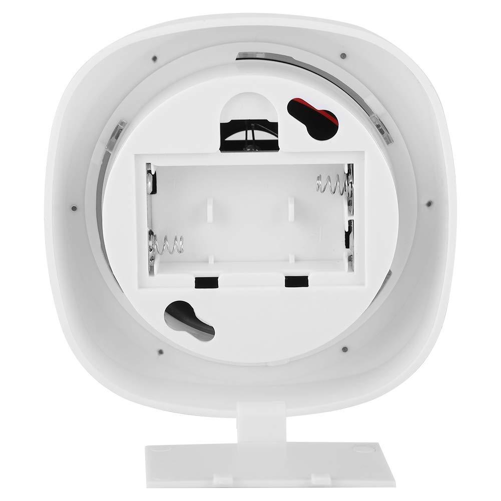 Woyisisi C/ámara de simulaci/ón de c/úpula Monitor de Seguridad Falso simulado LED Flasher Alarma antirrobo