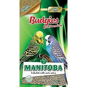MANITOBA Mangime per uccelli budgies plus kg. 1 - Alimenti uccelli